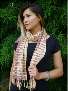 rayon and cotton scarves